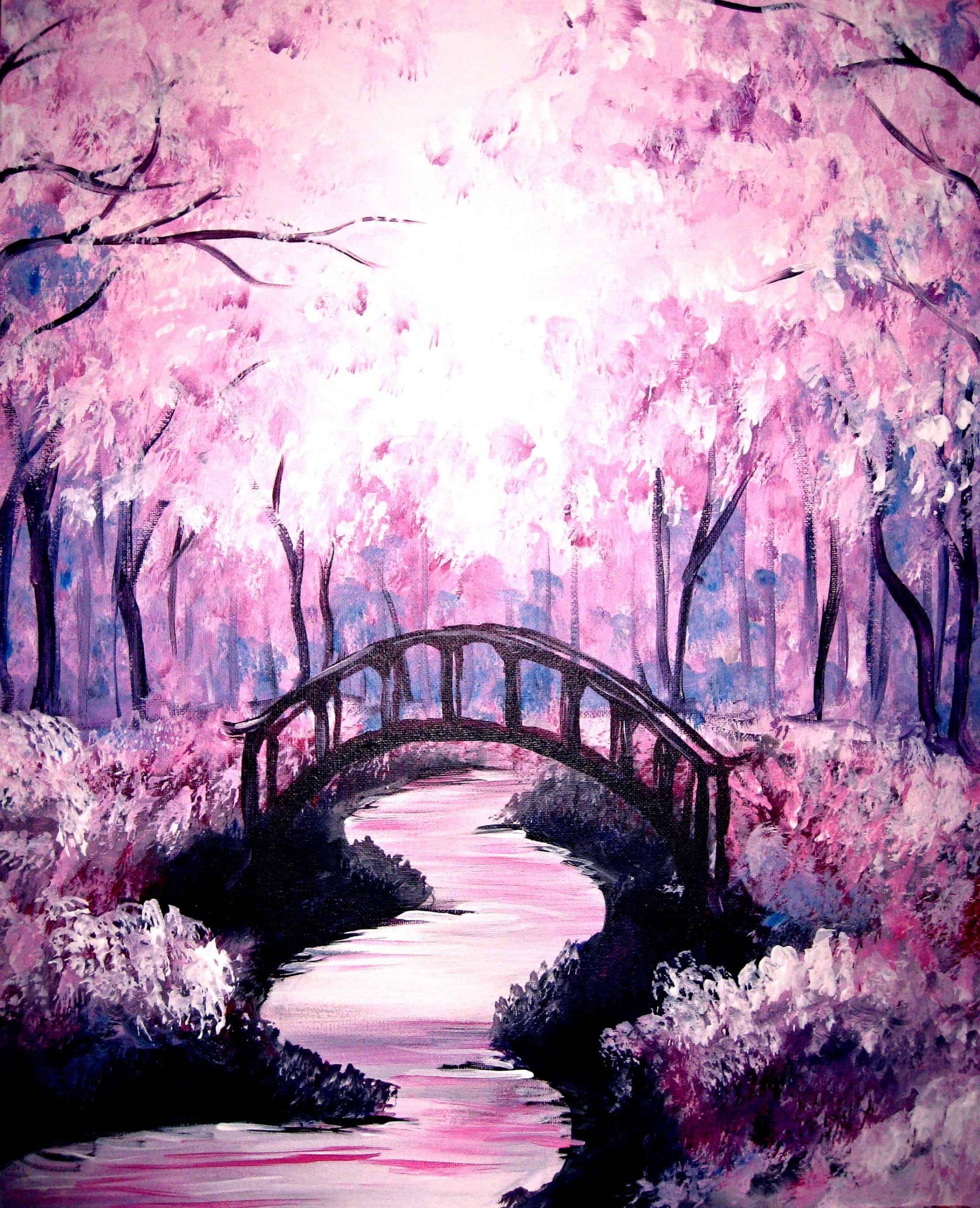 Beginner Nature Acrylic Painting Ideas If You Are An Adventurous Freak Go Out Of It And Explore It To The Fullest