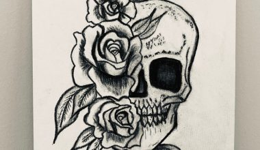 skull drawing easy 2